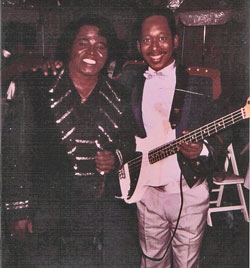 """Jimmie Lee Moore aka """"Stringpuller"""" James Brown Bass Player for 20 years"""
