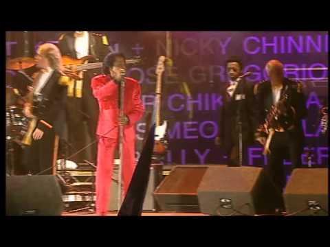 James Brown – I Feel Good (Live 8, Edinburgh 2005)