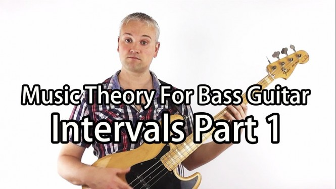 Music Theory for Bass Guitar – Intervals
