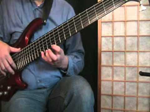 Six String Bass Em G Pentatonic With Diagrams